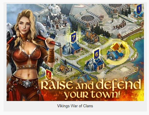Vikings War of Clans 4.6.0.1334 Apk for android