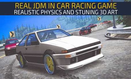 JDM racing 1.2.1 Apk + Mod (Unlimited Money) + Data for android