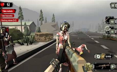 The Walking Zombie 2: Zombie shooter 3.1.7 Apk + Mod (Money)