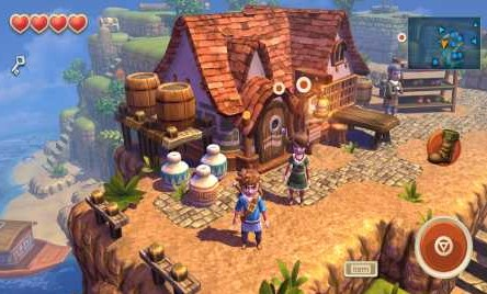 Oceanhorn 1.1.4 Apk + Mod (Unlocked) + Data for android