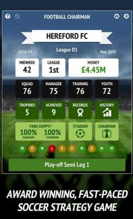 Football Chairman Pro 1.3.5 Apk + Mod