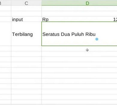 Rumus Terbilang Excel Manual Tanpa Macro Untuk Merubah Angka Menjadi Huruf